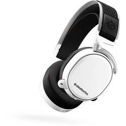Steelseries Arctis Pro Wireless herný headset bezdrôtový 2,4 GHz bezdrôtový cez uši biela, čierna