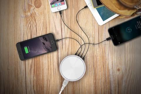 Per USB laden ist benutzerfreundlich