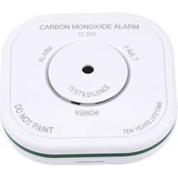 Detektor oxidu uhoľnatého oxidu uhoľnatého (CO) možnosť zapojenia do siete Olympia 6121, na batérie