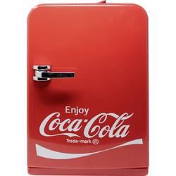 Mini chladnička / party chladiaci box Ezetil Coca-Cola® Mini Fridge 15, 12 V, 230 V, 14 l, červená