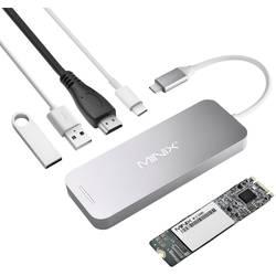 Dokovacia stanica na notebook (repasovaná) Minix NEO Storage Hub / NEO S1 120 GB SSD Vhodné pre značky: Apple