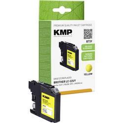 Kompatibilná náplň do tlačiarne KMP B73Y 1536,4009, žltá