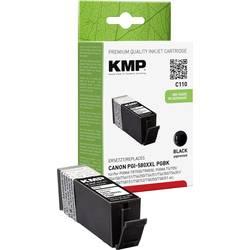 Kompatibilná náplň do tlačiarne KMP C110 1576,0201, čierna