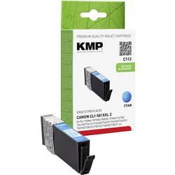 Kompatibilná náplň do tlačiarne KMP C112 1578,0203, zelenomodrá