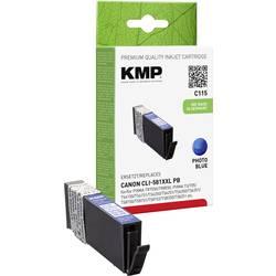 Kompatibilná náplň do tlačiarne KMP C115 1578,0242, modrá