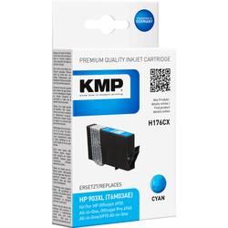 Kompatibilná náplň do tlačiarne KMP H176CX 1757,0003, zelenomodrá
