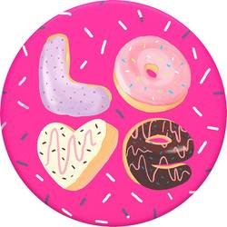 Stojan na mobil POPSOCKETS Love Donut N/A, ružová