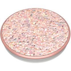 Stojan na mobil POPSOCKETS Sparkle Rose N/A, ružová, trblietavý efekt