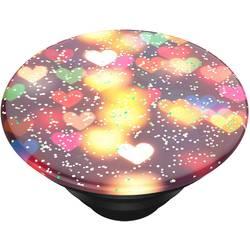 Stojan na mobil POPSOCKETS Glitter Bokeh Hearts N/A, viacfarebná