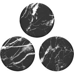 Stojan na mobil POPSOCKETS Black Marble N/A, čierna, biela