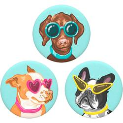 Stojan na mobil POPSOCKETS Posh Pups N/A, viacfarebná