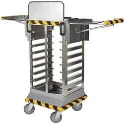 Vozík pre transport kufríkov s dielmi raaco 142250, Priehradiek: 7, 550 x 1280 x 530