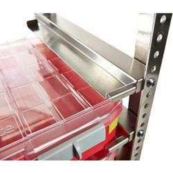 Vozík pre transport kufríkov s dielmi raaco 144896, 490 x 1580 x 480, strieborná