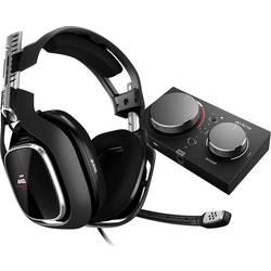 Astro Gaming A40 TR + MixAmp Pro herný headset jack 3,5 mm, s USB káblový cez uši čierna, červená