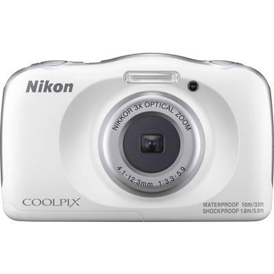 Nikon W150 Digitalkamera 13.2 Mio. Pixel Opt. Zoom: 3 x Weiß Wasserdicht, Staubgeschützt,  Preisvergleich