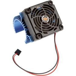 Image of Hobbywing Motor-Kühlkörper mit Ventilator Passend für Modellbau-Motor: 540er Elektromotor Blau (metallic)