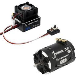 Striedavý (brushless) motor a regulátor otáčok, sada pre RC modely 1:10, 1:12 Hobbywing Xerun Justock G2.1 13,5 Turns 2800 KV