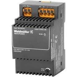 Napájací zdroj Weidmüller PRO INSTA 30W 12V 2.6A, 12 V/DC, 2.6 A, 30 W