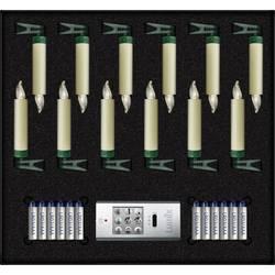 LED bezdrôtové osvetlenie vianočného stromčeka Lumix SuperLight mini Basis, vonkajšie/vnútroné 75522, na batérie, N/A, 9 cm