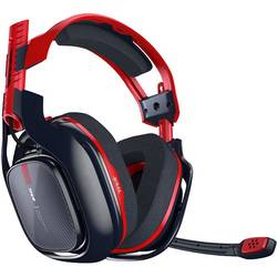 Image of Astro A40TR-X PC/PS4 ANNIVERSARY Gaming Headset 3.5 mm Klinke schnurgebunden Over Ear Rot, Schwarz