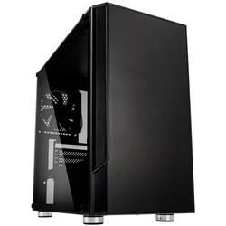 PC skrinka midi tower Kolink Citadel, čierna