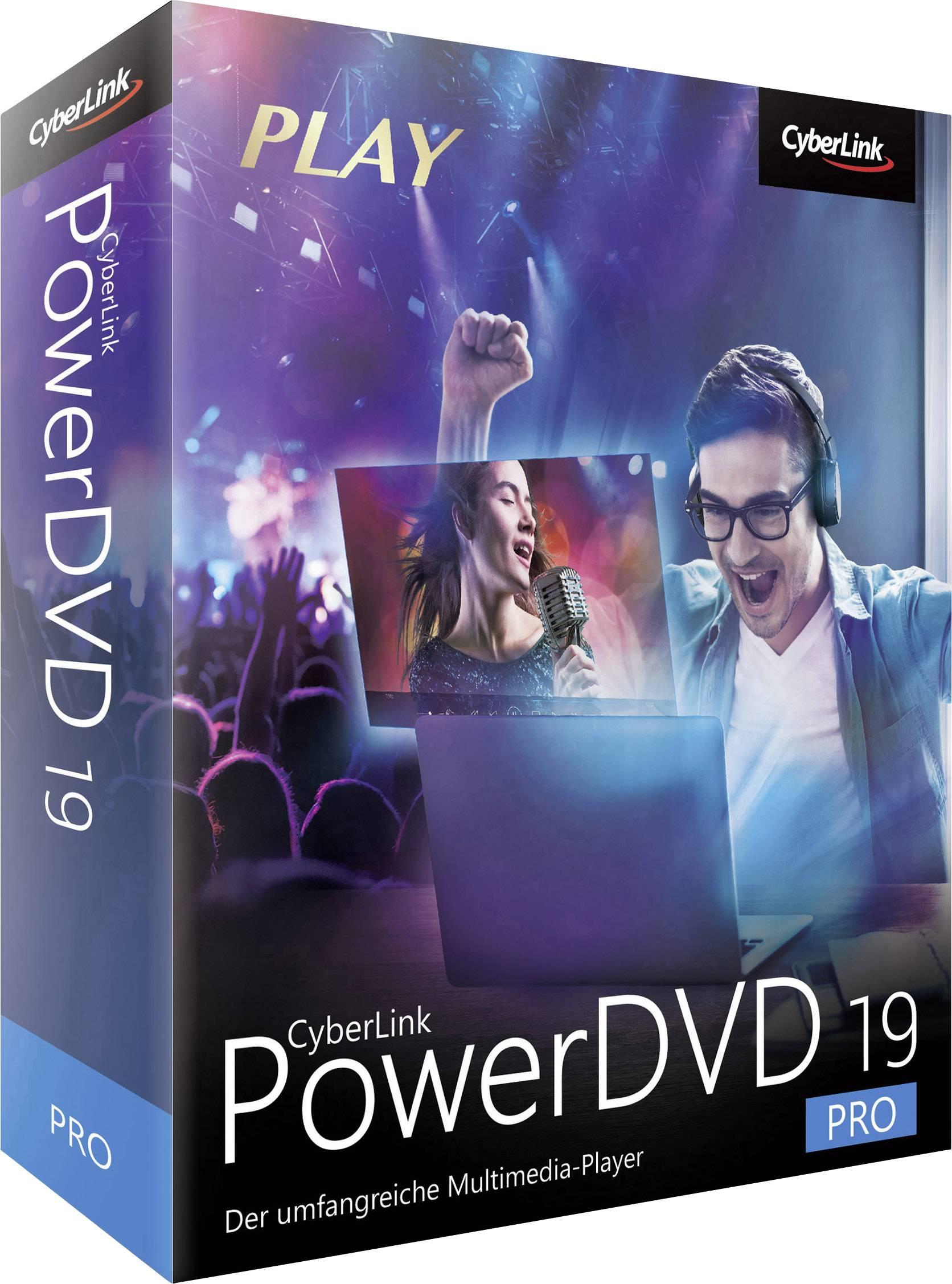Cyberlink PowerDVD 19 Pro Vollversion, 1 Lizenz Windows Videobearbeitung