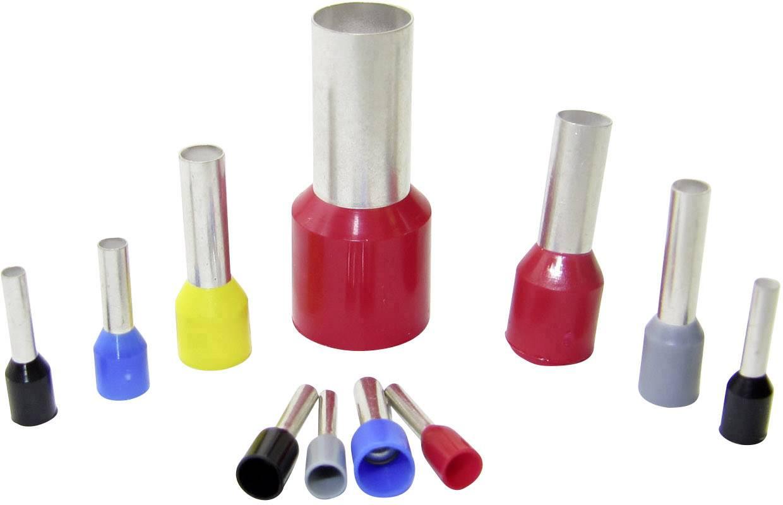 500 oder 1 000 Stück Aderendhülsen isoliert rot 1,00 mm²  Aderendhülse