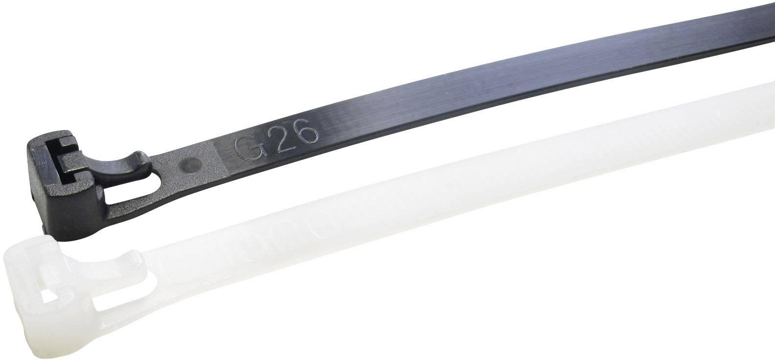 Kabelbinder 20 Teile 530 x 7,6 mm Schwarz