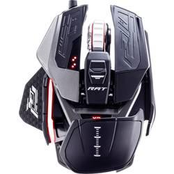 Optická herná myš MadCatz R.A.T. X3 MR05DCINBL001-0, podsvietenie, ergonomická, gélová opierka pod zápästie, integrovaná profilová pamäť, čierna