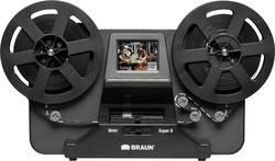Filmový skener pro film Super 8, TV výstup, se zásuvkou pro paměťová média, displej, digitalizace bez PC, Braun Germany NovoScan Super 8 - Normal 8, N/A