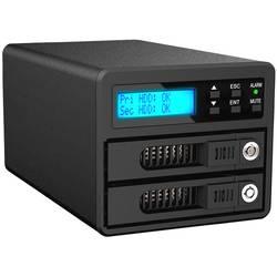 8,9 cm (3,5 palca) kryt pevného disku 2.5 palca, 3.5 palca RAIDON GR3680-SB3, USB 3.0, čierna