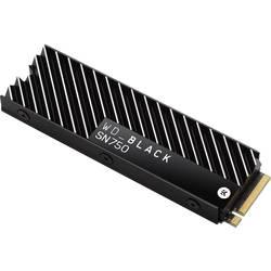 Interný SSD disk NVMe / PCIe M.2 WD Black™ SN750 Heatsink WDS100T3XHC, 1 TB, Retail, M.2 NVMe PCIe 3.0 x4