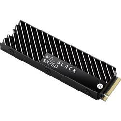 Interný SSD disk NVMe / PCIe M.2 WD Black™ SN750 Heatsink WDS200T3XHC, 2 TB, Retail, M.2 NVMe PCIe 3.0 x4