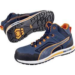 Bezpečnostná obuv S3 PUMA Safety Crosstwist Mid 633140-39, veľ.: 39, modrá, oranžová, 1 pár