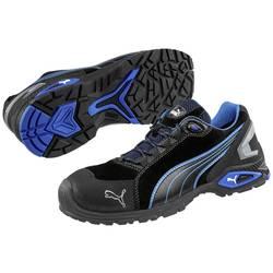 Bezpečnostná obuv S3 PUMA Safety Rio Black Low 642750-45, veľ.: 45, čierna, modrá, 1 pár