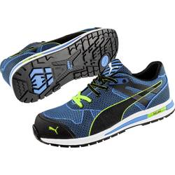 Bezpečnostná obuv S1P PUMA Safety Blaze Knit Low 643060-44, veľ.: 44, modrá, čierna, 1 pár
