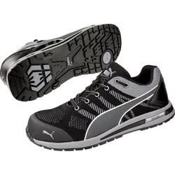 Bezpečnostná obuv ESD (antistatická) S1P PUMA Safety Elevate Knit Black Low 643160-45, veľ.: 45, čierna, sivá, 1 pár