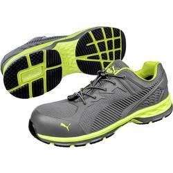 Bezpečnostná obuv ESD (antistatická) S1P PUMA Safety FUSE MOTION 2.0 GREEN LOW 643880-41, veľ.: 41, sivá, zelená, 1 pár