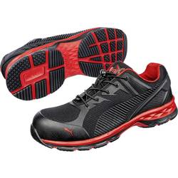 Bezpečnostná obuv ESD (antistatická) S1P PUMA Safety FUSE MOTION 2.0 RED LOW 643890-45, veľ.: 45, čierna, červená, 1 pár