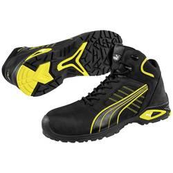 Bezpečnostná obuv S3 PUMA Safety Amsterdam Mid 632240-45, veľ.: 45, čierna, žltá, 1 pár