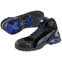 Bezpečnostná obuv S3 PUMA Safety Rio Black Mid 632250-47, veľ.: 47, čierna, modrá, 1 pár