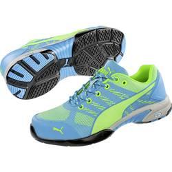 Bezpečnostná obuv S1P PUMA Safety Celerity Knit Blue Wns Low 642900-38, veľ.: 38, modrá, zelená, 1 pár