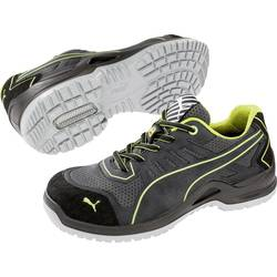 Bezpečnostná obuv ESD (antistatická) S1P PUMA Safety Fuse TC Green Wns Low 644100-37, veľ.: 37, sivá, zelená, 1 pár