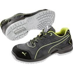 Bezpečnostná obuv ESD (antistatická) S1P PUMA Safety Fuse TC Green Wns Low 644100-38, veľ.: 38, sivá, zelená, 1 pár