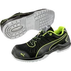 Bezpečnostná obuv ESD (antistatická) S1P PUMA Safety Fuse TC Green Low 644210-44, veľ.: 44, čierna, zelená, 1 pár