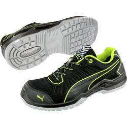 Bezpečnostná obuv ESD (antistatická) S1P PUMA Safety Fuse TC Green Low 644210-46, veľ.: 46, čierna, zelená, 1 pár