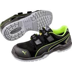 Bezpečnostná obuv ESD (antistatická) S1P PUMA Safety Neodyme Green Low 644300-49, veľ.: 49, čierna, zelená, 1 pár