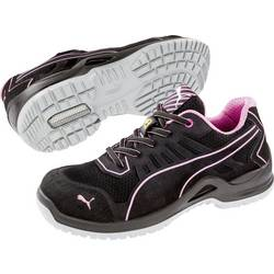 Bezpečnostná obuv ESD (antistatická) S1P PUMA Safety Fuse TC Pink Wns Low 644110-37, veľ.: 37, čierna, ružová, 1 pár