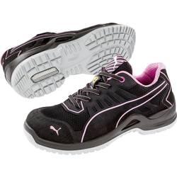 Bezpečnostná obuv ESD (antistatická) S1P PUMA Safety Fuse TC Pink Wns Low 644110-38, veľ.: 38, čierna, ružová, 1 pár