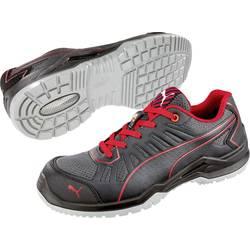 Bezpečnostná obuv ESD (antistatická) S1P PUMA Safety Fuse TC Red Low 644200-41, veľ.: 41, čierna, červená, 1 pár